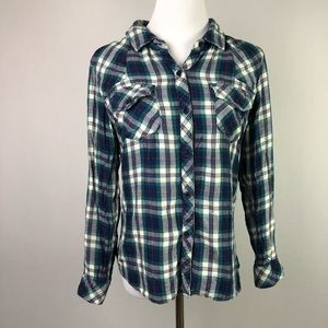 Rails Plaid Button Down Shirt Long Sleeve